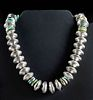 Vintage American Turquoise & Buffalo Nickel Necklace