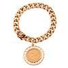 A 1906 $5 Gold Coin Charm Bracelet