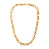 A Judith Ripka Necklace in 18K Yellow Gold