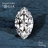 10.10 ct, D/VS1, TYPE IIA Marquise cut Diamond. Unmounted. Appraised Value: $2,651,200
