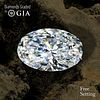 10.44 ct, H/VVS2, Oval cut Diamond. Unmounted. Appraised Value: $1,357,200