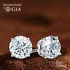6.39 carat diamond pair TYPE IIA Round cut Diamond GIA Graded 1) 3.16 ct, Color D, FL 2) 3.23 ct, Color D, FL. Unmounted. Appraised Value: $926,600