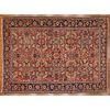 Antique Heriz Carpet, Persia, 9.7 x 13.1