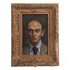 Walt Kuhn. Portrait of a Young Man, oil