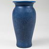 Tall Rookwood Pottery Speckle Blue Glazed Vase