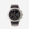 A stainless steel automatic, chronograph, strap wristwatch with date, Ebel,