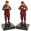 Chinese Figural Bookends