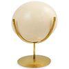 Ostrich Egg on Brass Stand