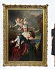 Nicolas de Largilliere (1656-1746) Palatial Painting
