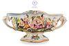 An Vintage Italian Capodimonte Centerpiece/Bowl