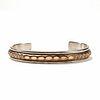 Marc Antia Gold Filled Sterling Cuff Bracelet