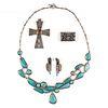 Grp: Southwest Native American Silver Jewelry