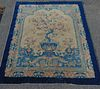 ANTIQUE CHINESE PICTORIAL RUG