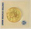 Gold Buffalo, 2013 Mint State fine gold, 1 oz.