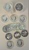Thirty Australian Silver, 1 oz. each; along with 30 Philharmonics, 1 oz. each, 60 t.oz. total.