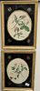 Seven Piece Group of Framed Botanical Prints, to include three J. Baptiste still lifes with hand coloring; unsigned engraving of peppers; pair of lith