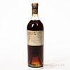 Chateau d'Yquem 1893, 1 bottle