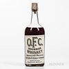 OFC Whiskey 10 Years Old 1909, 1 quart bottle