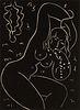 HENRI MATISSE (1869-1954) BLOCK PRINT