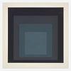 Josef Albers (American/German, 1888-1976), , Gray Instrumentation Ij