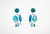 SUZAN REZAC, Swimming Pool Earrings