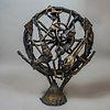 Guillermo Olguín. Sin título. Escultura de bronce colado. / Untitled wrought bronze sculpture