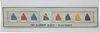 "Hand Decorated Sign, ""The Rainbow Fleet - Nantucket"""