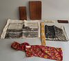 Collection of Nantucket Looms and Cloth Co. of Nantucket 1960s Linens