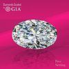 10.44 ct, H/VVS2, Oval cut Diamond. Unmounted. Appraised Value: $1,396,300
