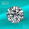 10.51 ct, G/VS2, Round cut Diamond. Unmounted. Appraised Value: $1,523,900