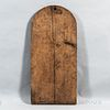 Large Arched Pine Cutting/Bread Board