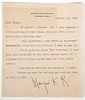 MARJORIE KINNAN RAWLINGS Signed Letter