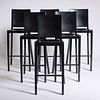 Philippe Starck  (6) Hudson Bar Stools