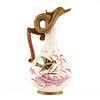 Royal Rudolstadt German Porcelain Victorian Bird Pottery Ewer