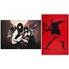 Banksy Angel Demon & Flower Thrower Prints