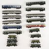 Grp: 18 Marklin HO Scale Model Train Cars