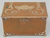 Large Gorham Athenic Copper and Silver Box