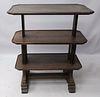 William IV Carved Oak Telescopic Dumbwaiter