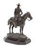 Joe Beeler (American, 1931-2006) Cowboy on Horseback, edition 36/50