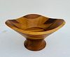 Wooden Bowl by Wei Young for Nambe