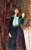 William Glackens(American, 1870-1938)Girl with Violin, c. 1917