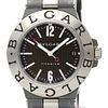 BVLGARI Diagono Carbon Dial Titanium Automatic Watch TI38TA BF526506