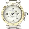 Cartier Pasha 38 Automatic Stainless Steel,Yellow Gold (18K) Men's Dress Watch W31035T6 BF517504