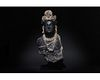 SUPERB GANDHARA BLACK SHCIST STONE TORSO OF BUDDHA