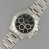 Rolex Daytona 16520 L Serial Stainless Steel Chronograph Wristwatch with Black Dial