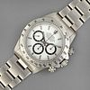 Rolex Daytona 16520 L Serial Stainless Steel Chronograph Wristwatch with White Dial