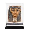 An Egyptian Cartonnage Mummy Mask