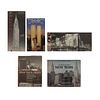 LIBROS SOBRE ARQUITECTURA Y URBANISMO DE NUEVA YORK. a) New York 1960. b) New York. c) Bridges. Piezas: 5.