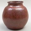 Hammered Copper Ovoid Vessel