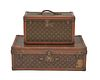 The Julia and Paul Child Two Piece Set of LOUIS VUITTON Travel Cases